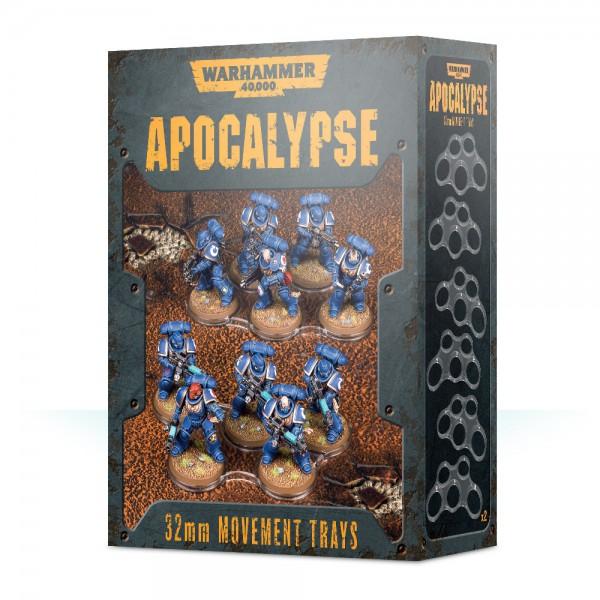 Einheitenbases für Apocalypse (32 mm)