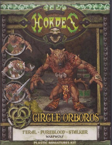 Circle Orboros Feral/Pureblood/Stalker Warpwolf (plastic)