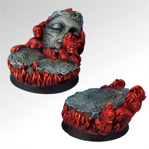 Straight from Hell 40 mm round bases set1