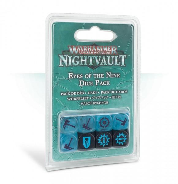 Warhammer Underworlds: Nightvault – Würfel der Augen der Neun