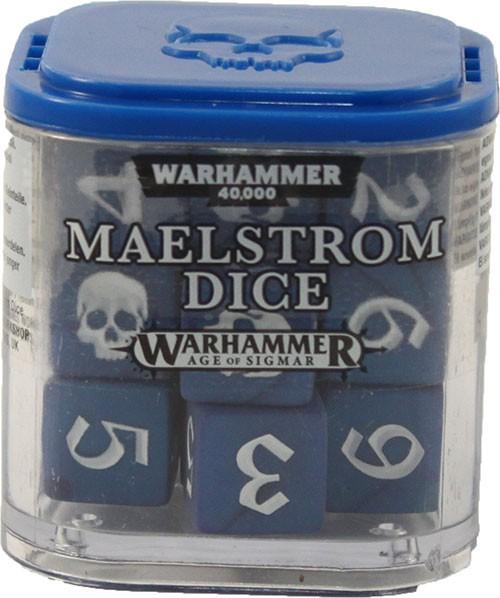 Maelstrom-Würfel - Blau