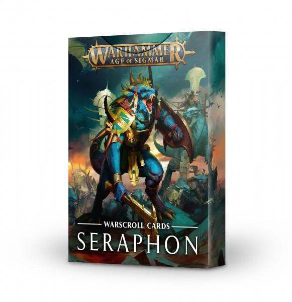 Schriftrollenkarten der Seraphon (DE)