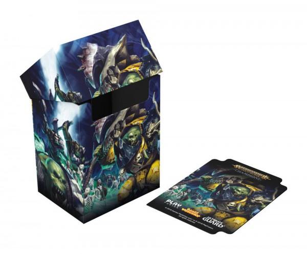 Warhammer Age of Sigmar: Champions Basic Deck Case 80+ Standardgröße Destruction vs. Death