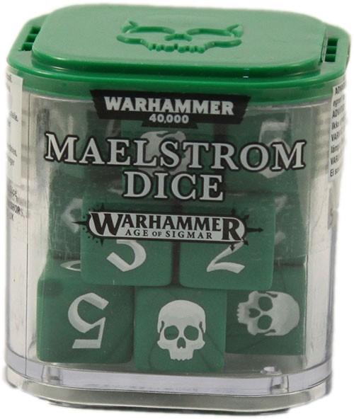 Maelstrom-Würfel - Grün