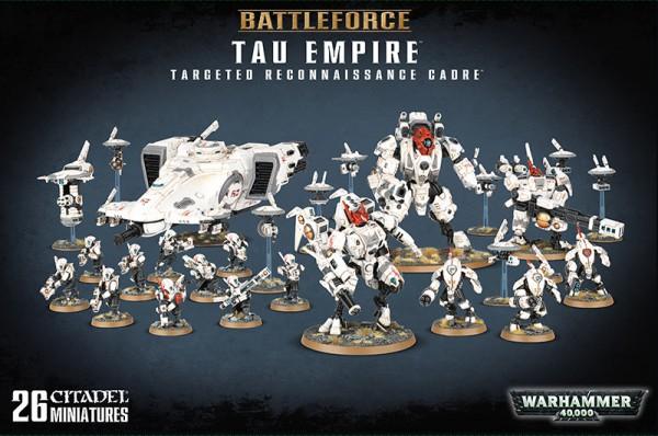 Battleforce: Tau Empire Targeted Reconnaissance Cadre