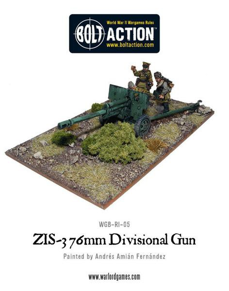 Soviet ZIS-3 76mm Divisional Gun