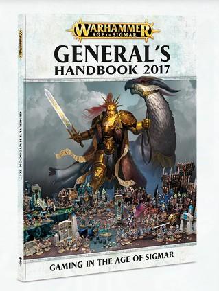 Warhammer Age of Sigmar: General's Handbook 2017 (Englisch)