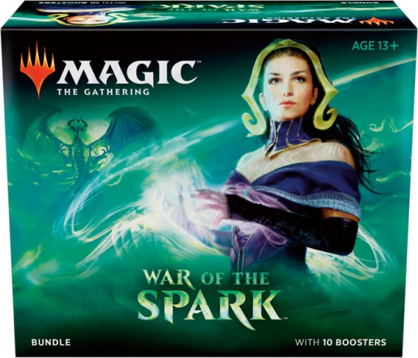 Magic the Gathering War of the Spark Bundle (Engl.)