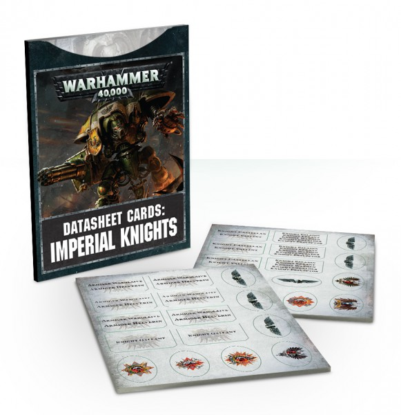 Datenblatt-Karten: Imperial Knights (DE)
