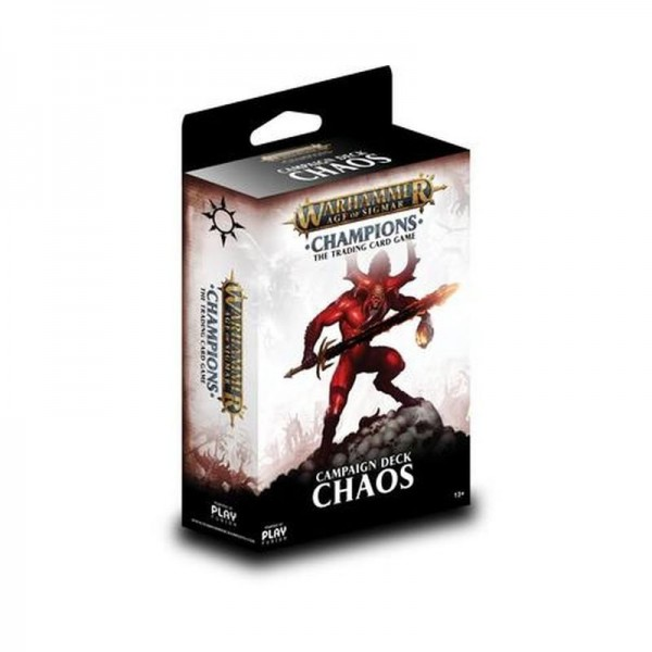 Warhammer Champions Welle 1 Kampagnendeck Chaos (DE)