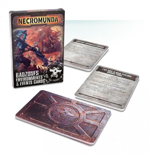 Necromunda: Badzone Environments & Events Cards (Englisch)