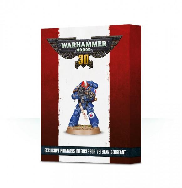 30 Jahre Warhammer 40.000: Primaris Intercessor Veteran Sergeant