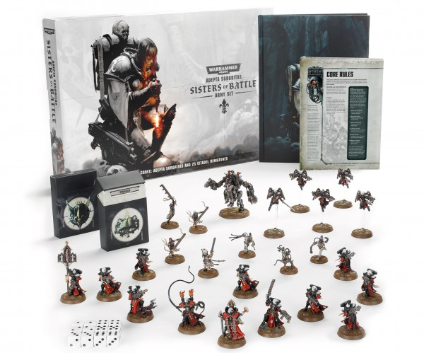 Adepta Sororitas: Sisters of Battle – Armeeset (DE)