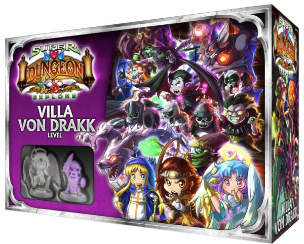 Super Dungeon Explore: Erw. Villa von Drakk Level-Box (DE)