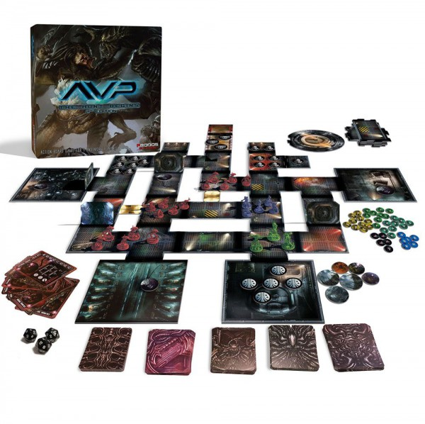 Alien vs. Predator Tabletop-Spiel The Hunt Begins 2nd Edition (DE)