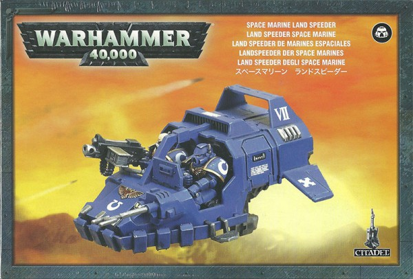 Landspeeder der Space Marines