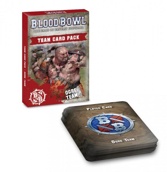 Blood Bowl Ogre Team Card Pack (Englisch)