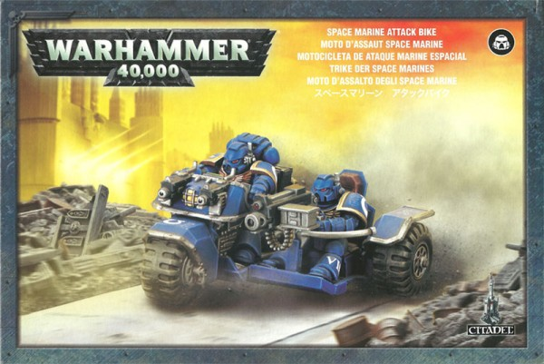 Trike der Space Marines