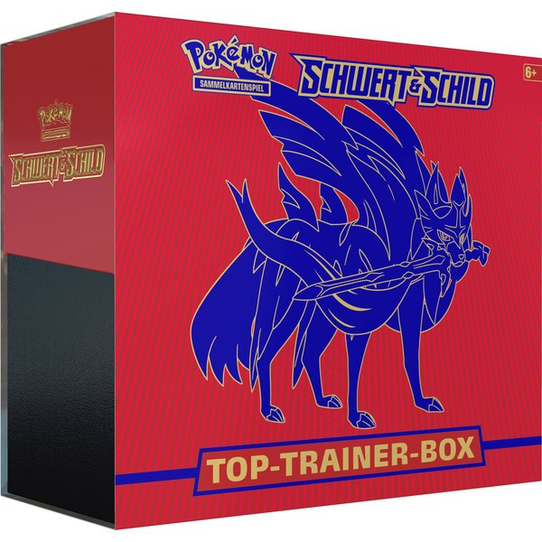 Pokémon Schwert Top  Trainer Box