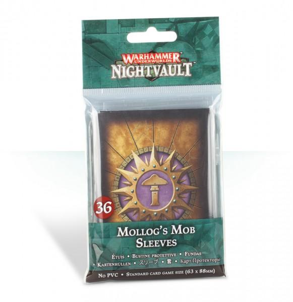 Kartenhüllen für Warhammer Underworlds: Nightvault – Mollogs Mob