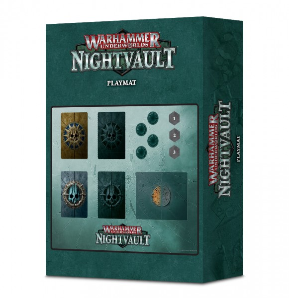Warhammer Underwords: Nightvault – Kartenmatte