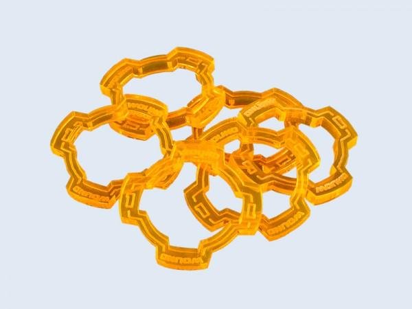 Wound Ring Orange