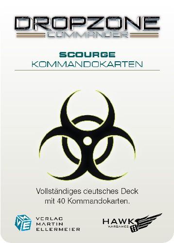 The Scourge Kommandokarten (DE)