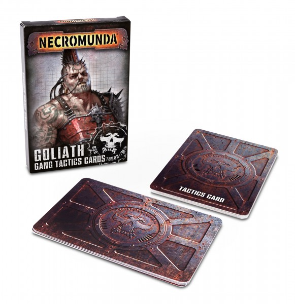 Goliath Gang Tactics Cards (Second Edition) (Englisch)