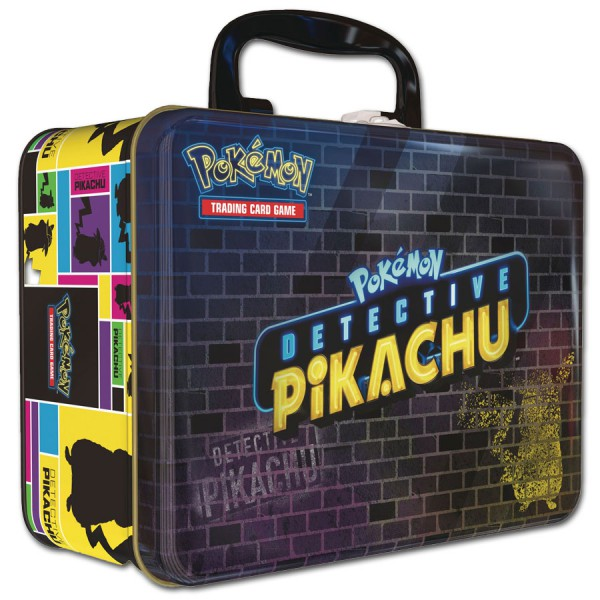 Pokémon Meisterdetektiv Pikachu-Sammelkoffer (DE)