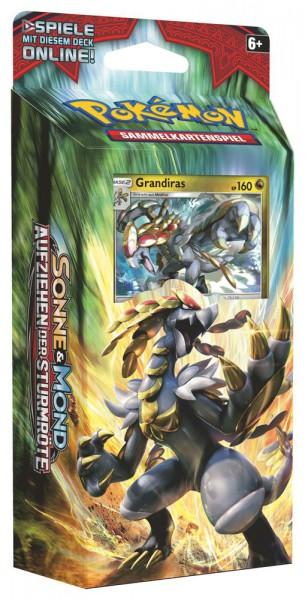 Pokemon Aufziehen der Sturmröte Grandiras Themendeck (DE)
