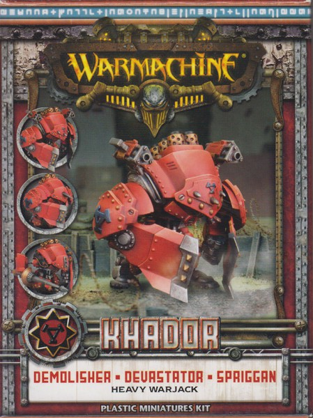 Khador Warjack Demolisher