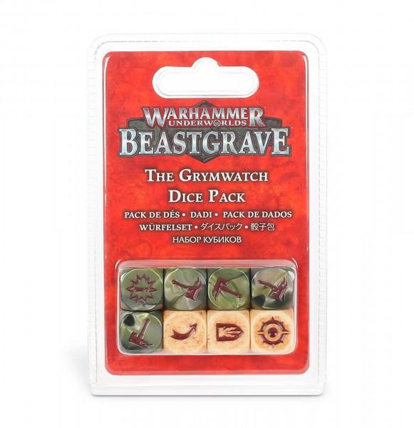 Warhammer Underworlds: Beastgrave – Würfelset der Grimwacht