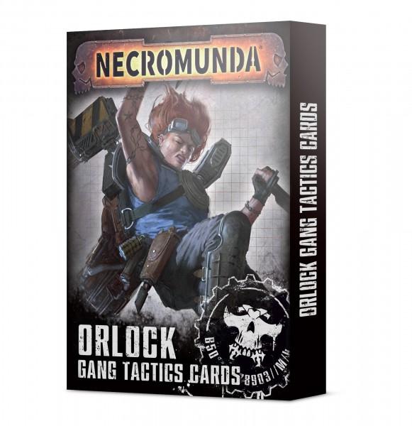 Necromunda: Orlock Gang Tactics Cards (Englisch)