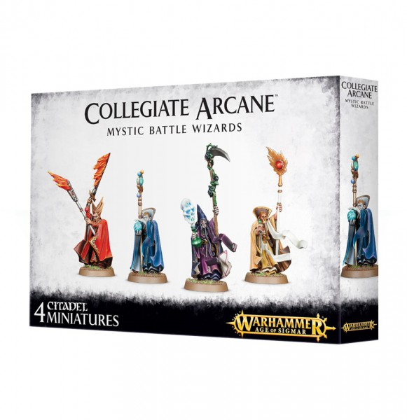 Collegiate Arcane Mystic Battle Wizards