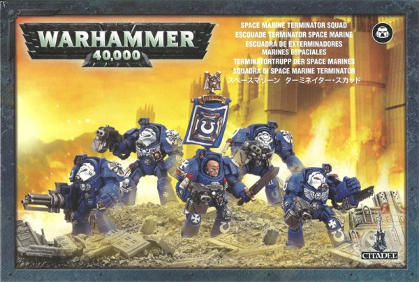 Space Marine Terminatoren