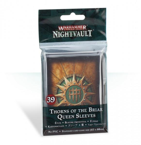 Kartenhüllen für Warhammer Underworlds: Nightvault – Die Dornen der Rosenkönigin