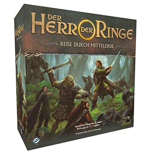 Der Herr der Ringe: Reise durch Mittelerde Grundspiel (DE)