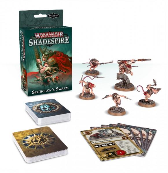 Warhammer Underworlds: Shadespire – Spiteclaw's Swarm (DE)