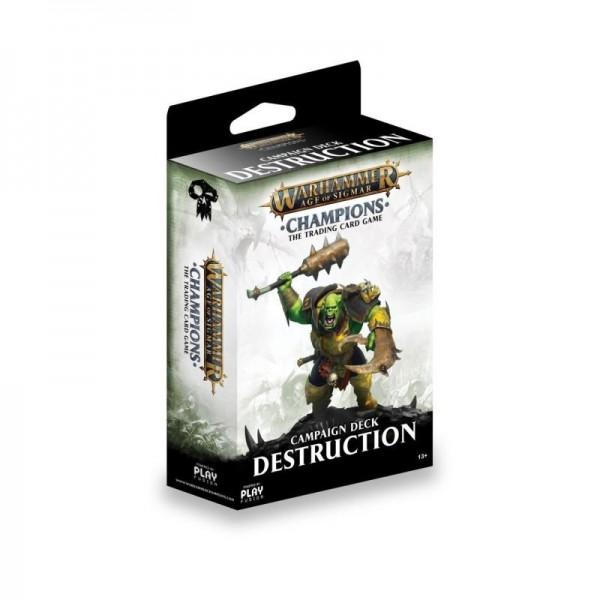 Warhammer Champions Welle 1 Kampagnendeck Zerstörung (DE)