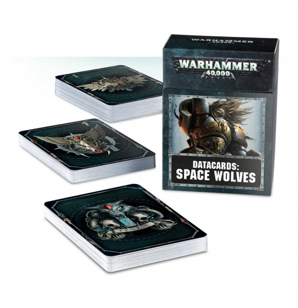 Datakarten: Space Wolves (DE)
