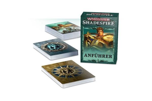 Warhammer Shadespire Anführer Karten (DE)