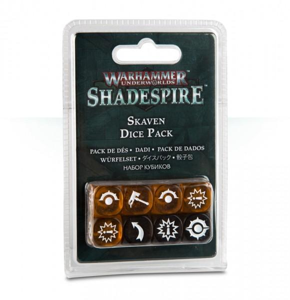 Warhammer Underworlds: Shadespire – Skaven-Würfelset