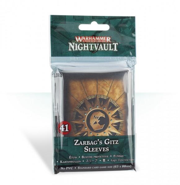 Kartenhüllen für die Zarbags Gitz