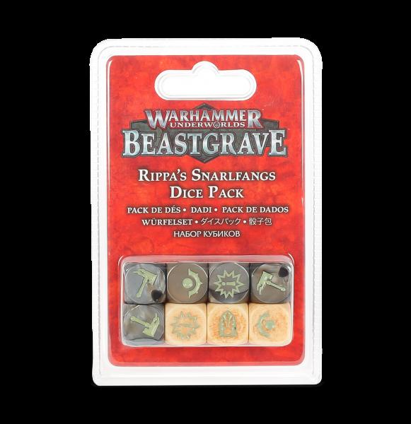 Warhammer Underworlds: Beastgrave – Würfelset für Fetzas Zahnfletschas