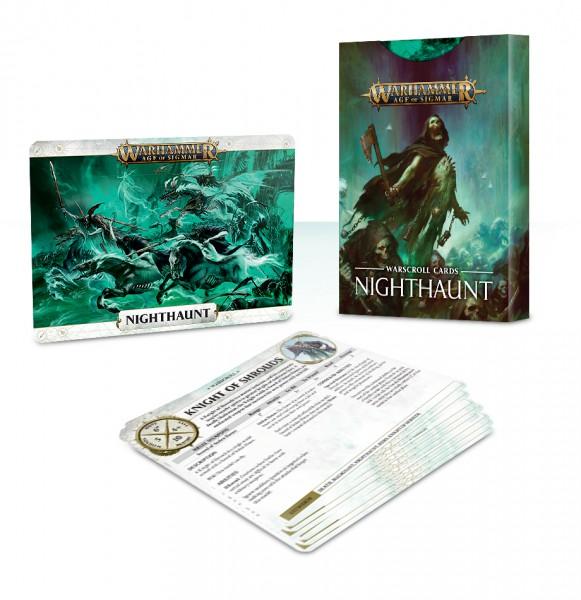 Schriftrollen-Karten: Nighthaunt (DE)