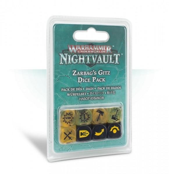 Warhammer Underworlds: Nightvault – Würfel für Zarbags Gitz