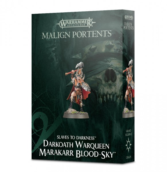 Darkoath Warqueen Marakarr Blood-sky