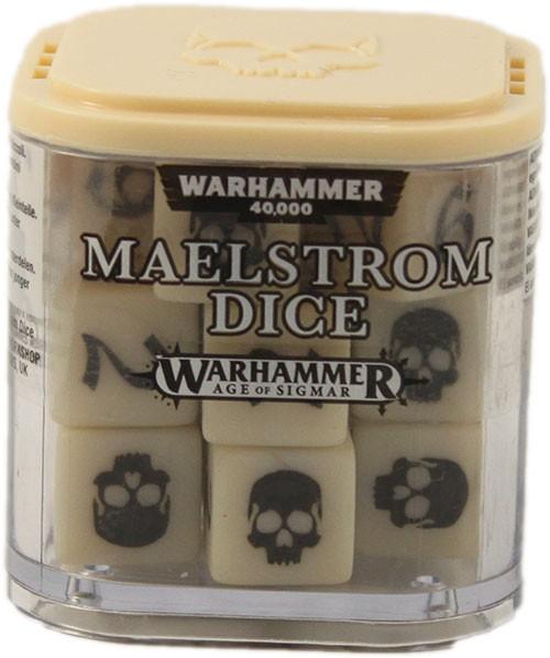 Maelstrom-Würfel - Elfenbein