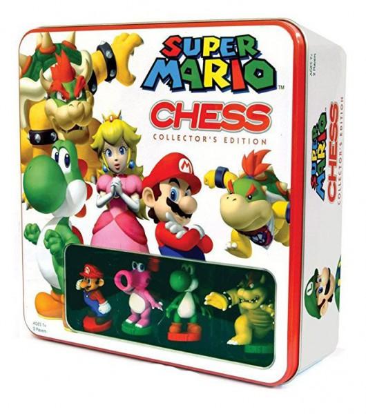 Super Mario Schachspiel Tin Box
