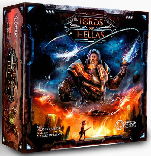 LORDS OF HELLAS: Grundspiel - DE
